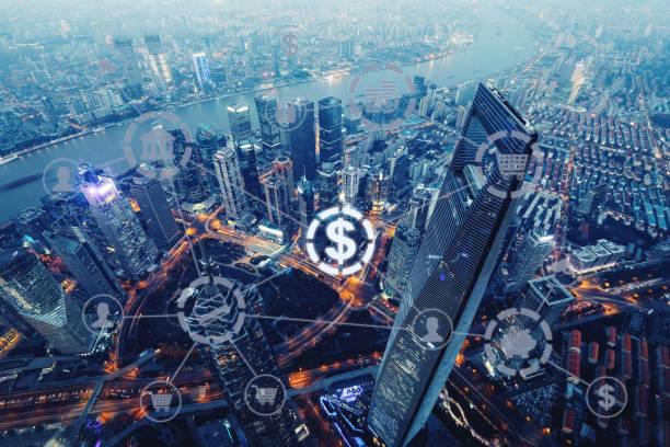 Fintech Electronic Banking Internet Network Finanztechnologie – Foto