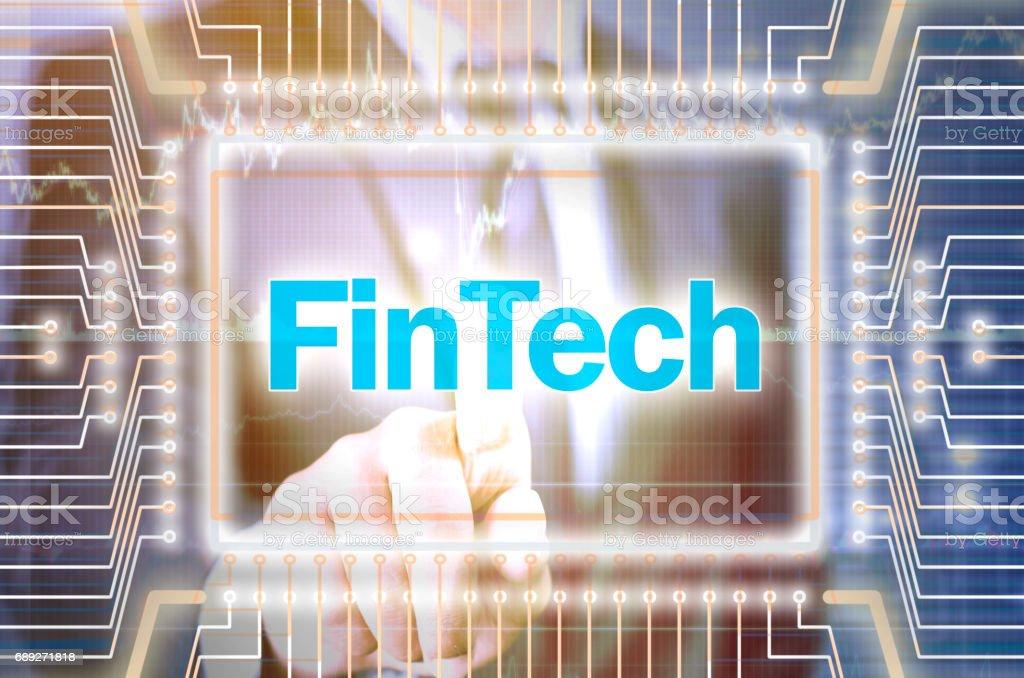 Fintech stock photo