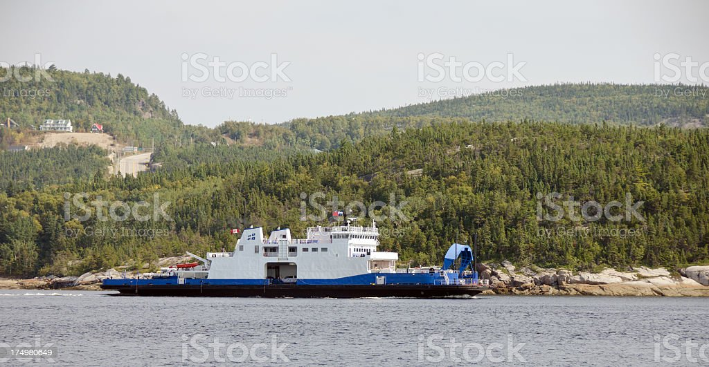 Fiord Saguenay Ferry royalty-free stock photo