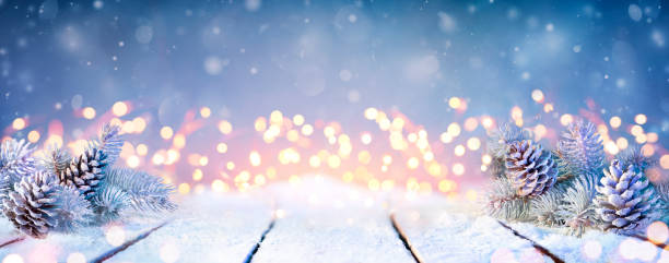 Fir branches and pinecones on snowy table and christmas lights picture id1180481212?b=1&k=6&m=1180481212&s=612x612&w=0&h=kfhkdrekoyzgu4w9xyn lf3ubgpik17ymr4etjvdw4e=