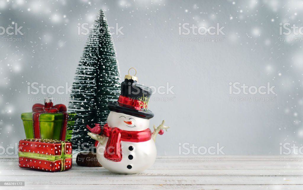 Fir tree with christmas decorations 免版稅 stock photo