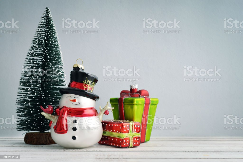 Fir tree with christmas decorations foto de stock royalty-free