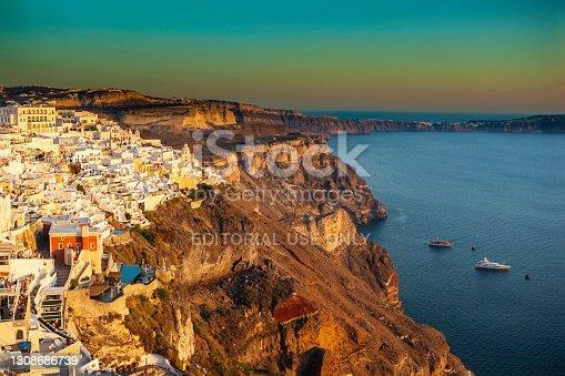 istock Fira, Santorini island, Greece 1308686739