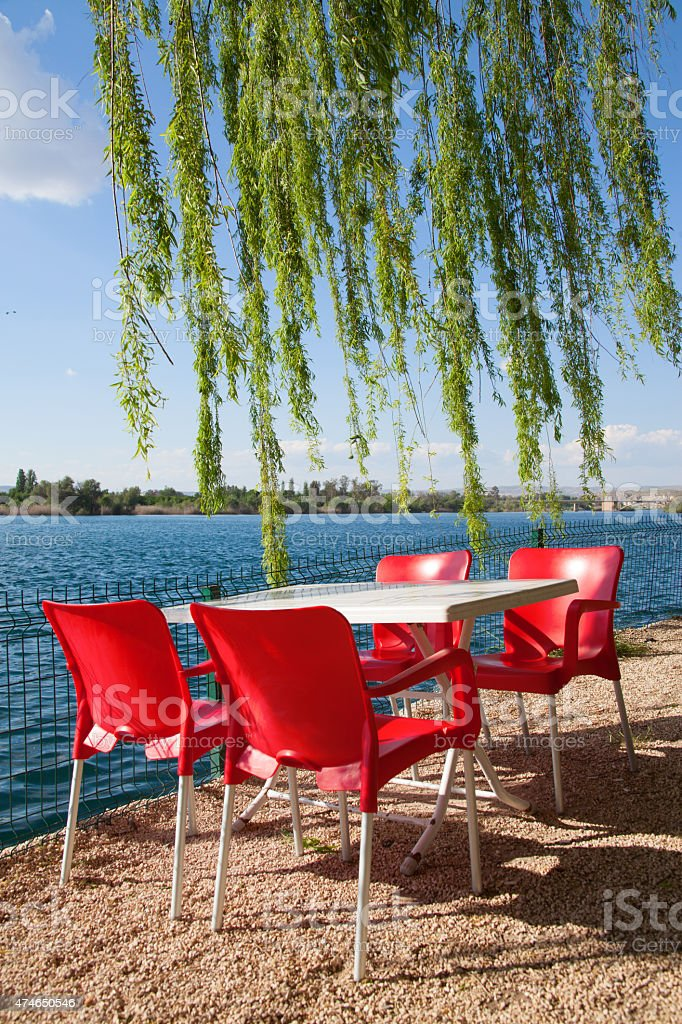 Firat River. Sanliurfa Turkey stock photo