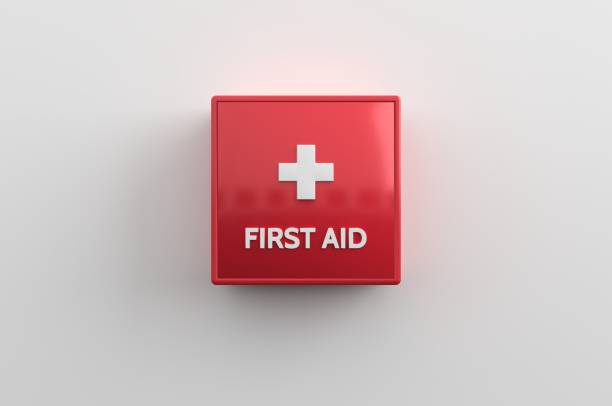 Firdt Aid, First line health care stock photo