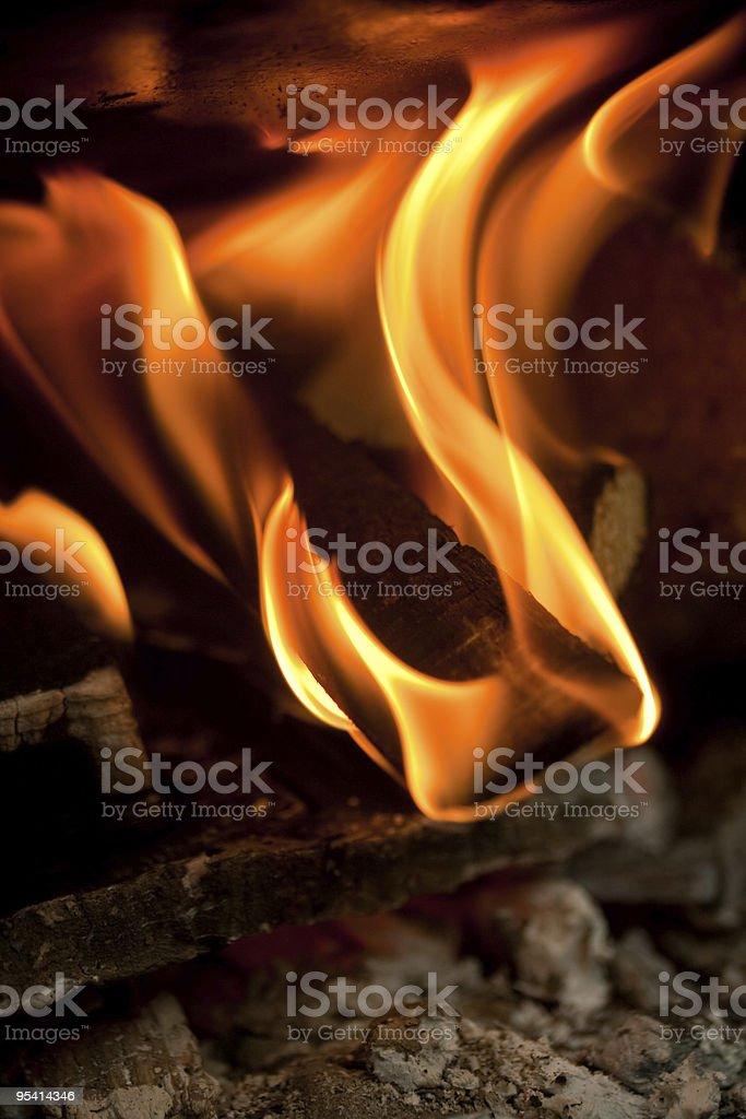 Fire abstrakte Lizenzfreies stock-foto