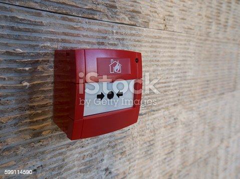 istock Fire Alarm Button 599114590