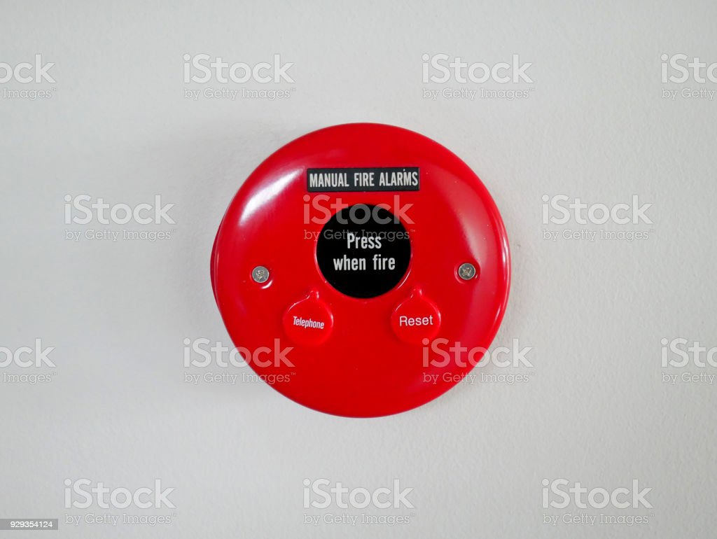 Fire Alarm Equipment. stock photo