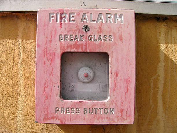 Alarma de incendios II - foto de stock