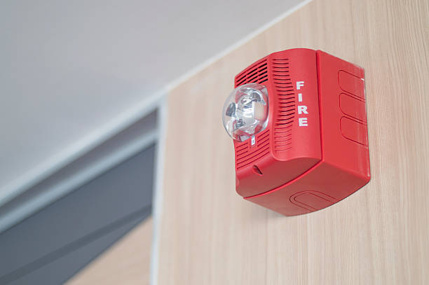 fire alarm notification appliance - alarm stock pictures, royalty-free photos & images