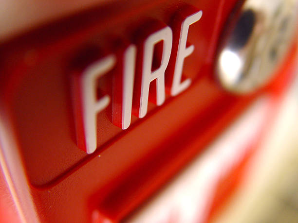 fire alarm - alarm stock photos and pictures