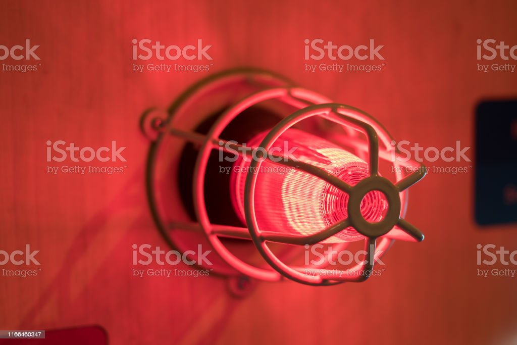 Fire alarm sounder Fire alarm sounder Accidents and Disasters Stock Photo