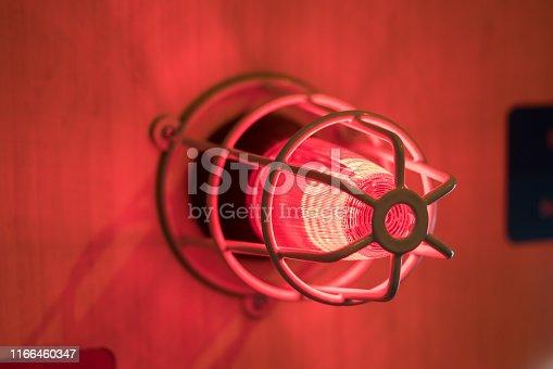 istock Fire alarm sounder 1166460347