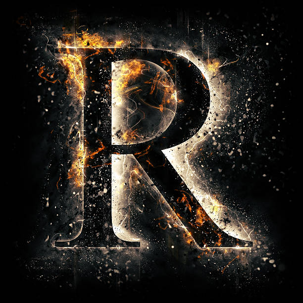 219 Fire Letter R Stock Photos Pictures Royalty Free Images Istock