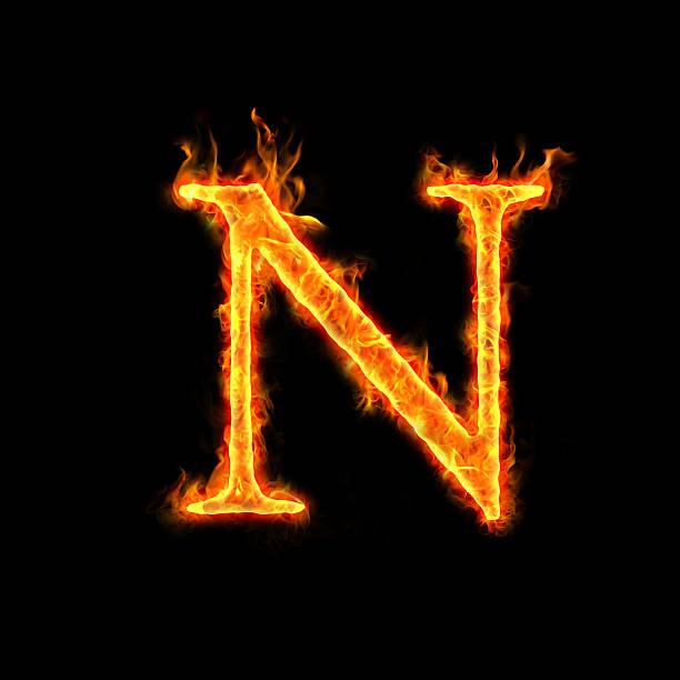 fire Alphabete, N – Foto