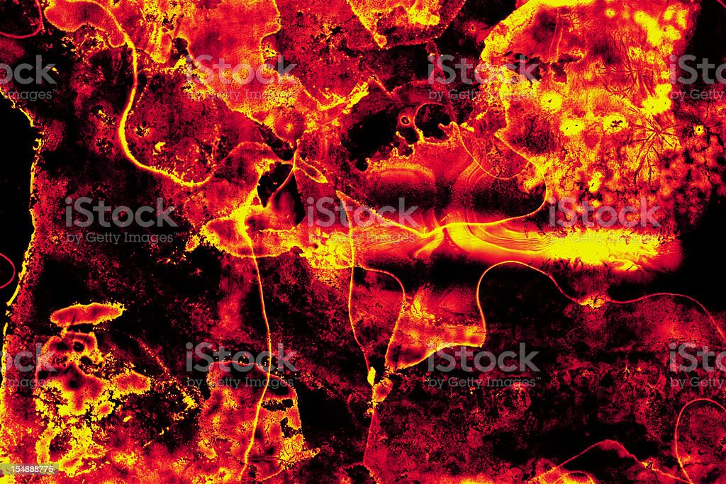 Fire and Brimstone Texture - Abstract Background stock photo