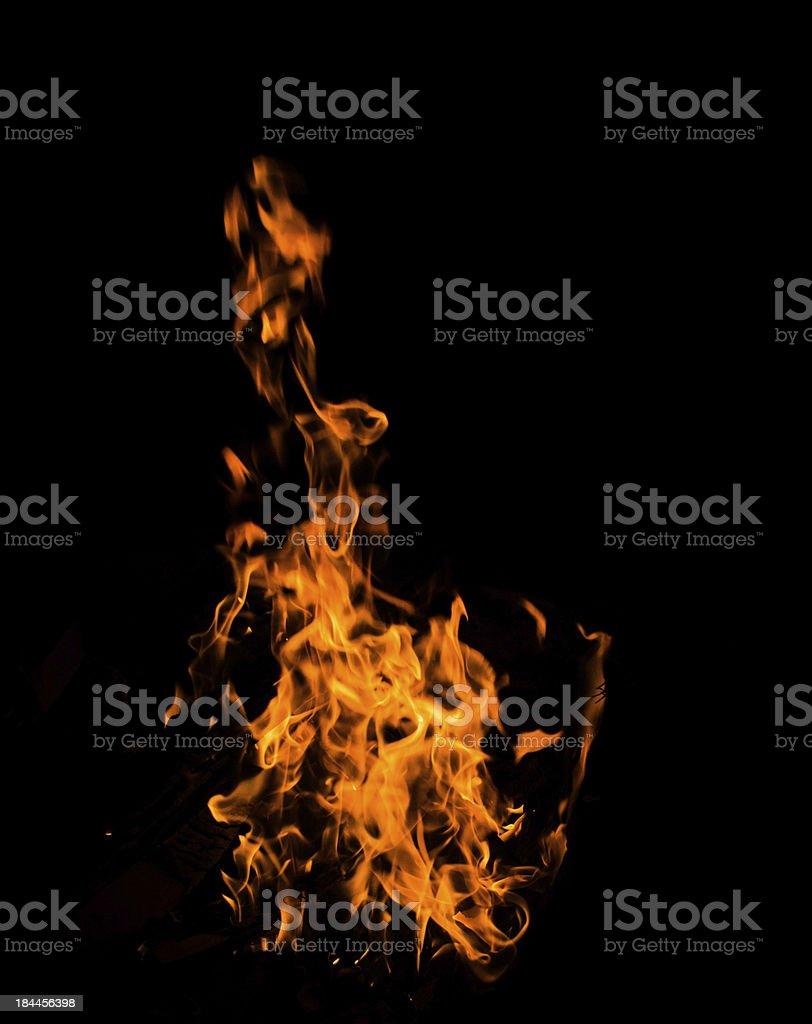 fuoco e fiamme! stock photo