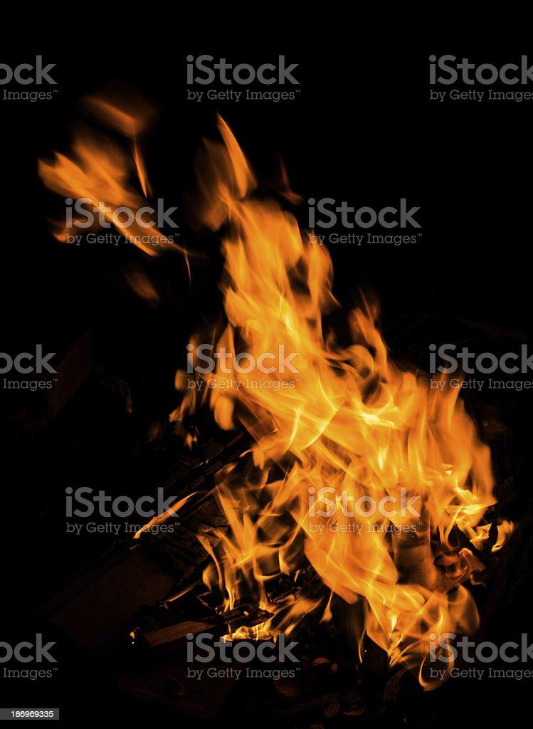 fuoco e fiamme stock photo