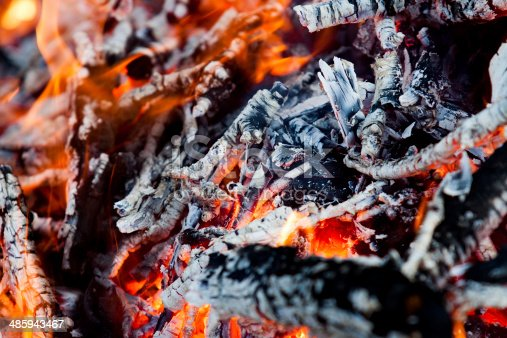 istock Fire and heat as a concept of danger 485943467