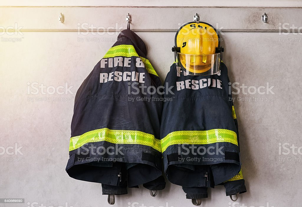 Fire and rescue stock photo