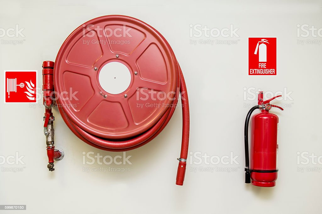 Fire and Safety stock photo