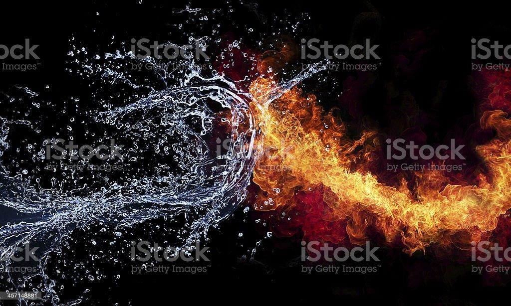 Feuer Und Wasser Bilder Und Stockfotos Istock