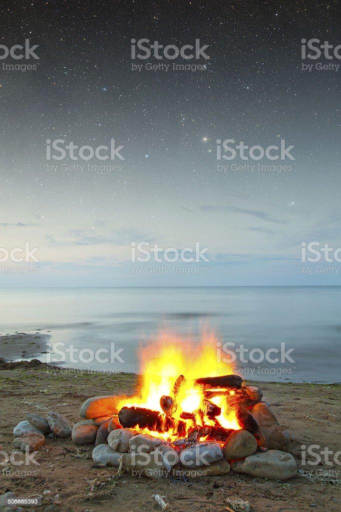 fire at sea圖像檔