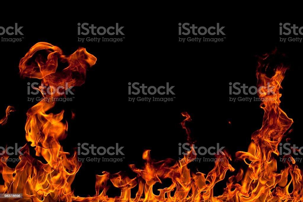 Sfondo di fuoco foto stock royalty-free