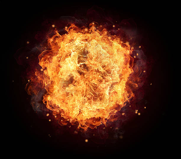 fire ball - passion stock pictures, royalty-free photos & images