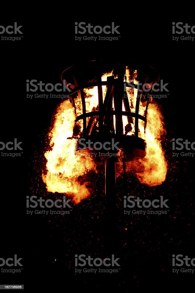 fire beacon stock photo