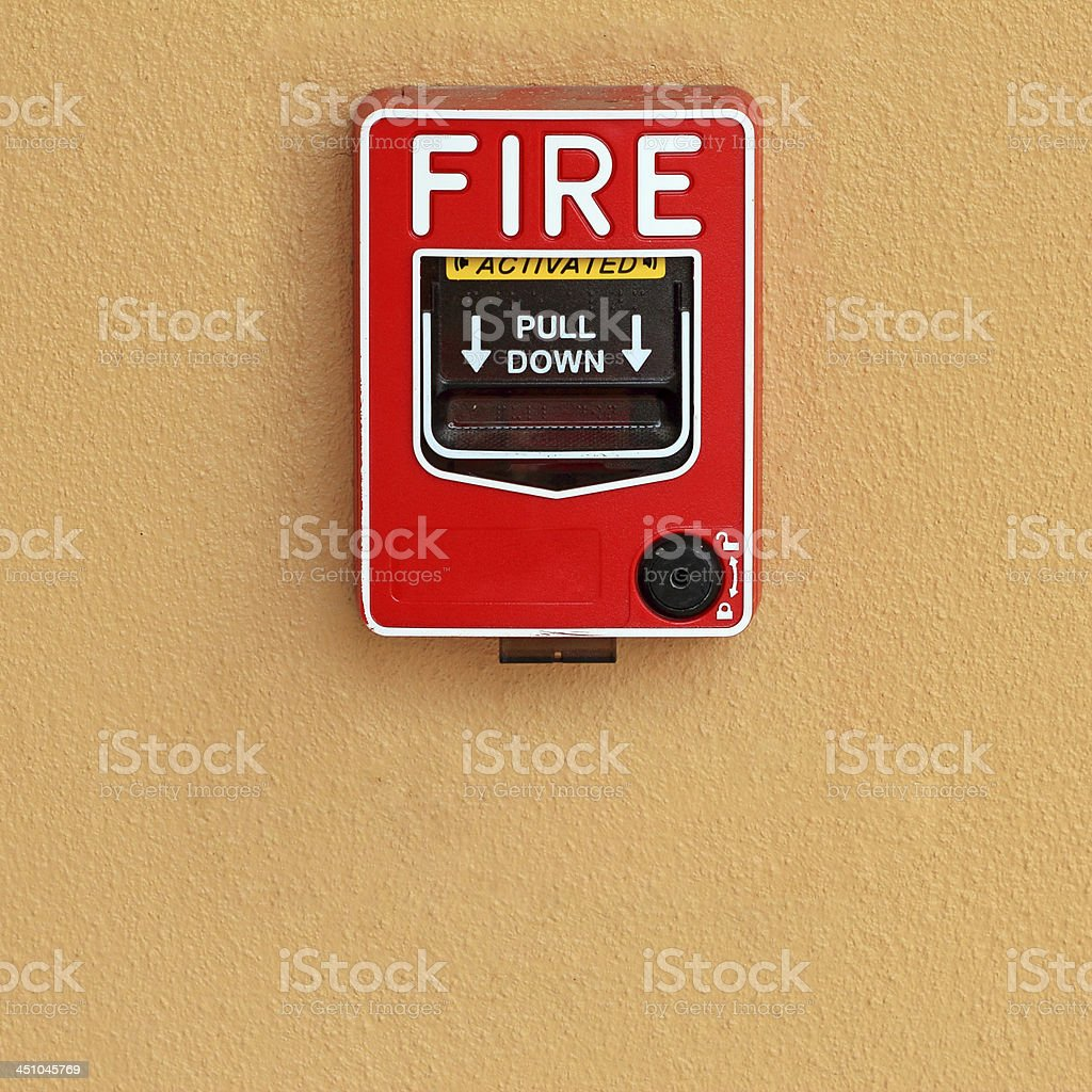 fire break royalty-free stock photo