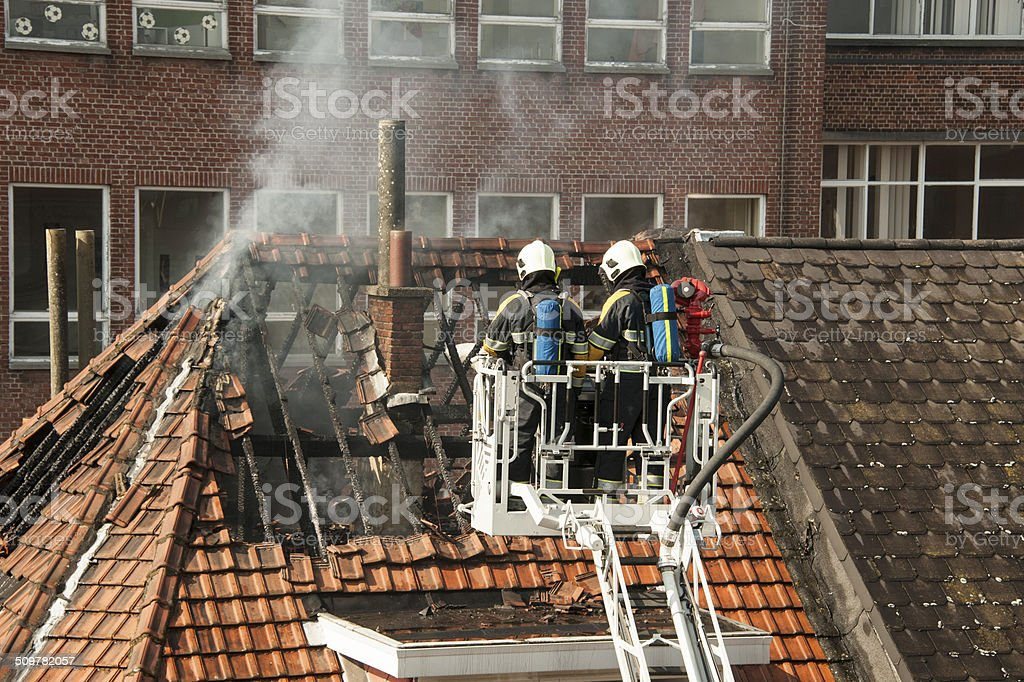 Fire Brigade stock photo