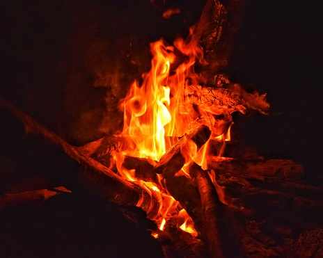 Fire Burning Stock Photo Download Image Now Istock