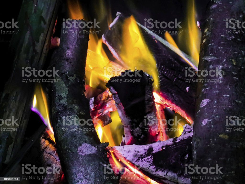 Feuer bunt royalty-free stock photo