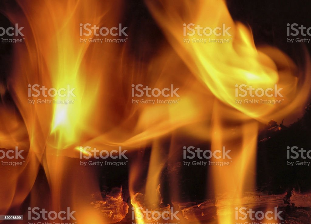 Fire Dance royalty-free stock photo