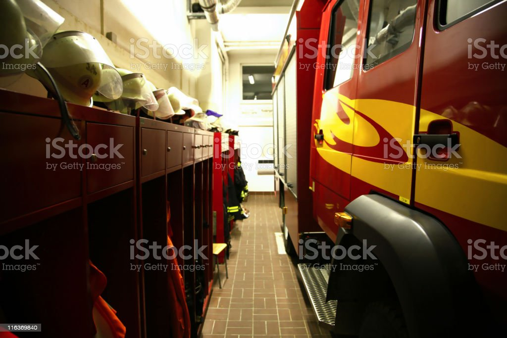fire departement royalty-free stock photo