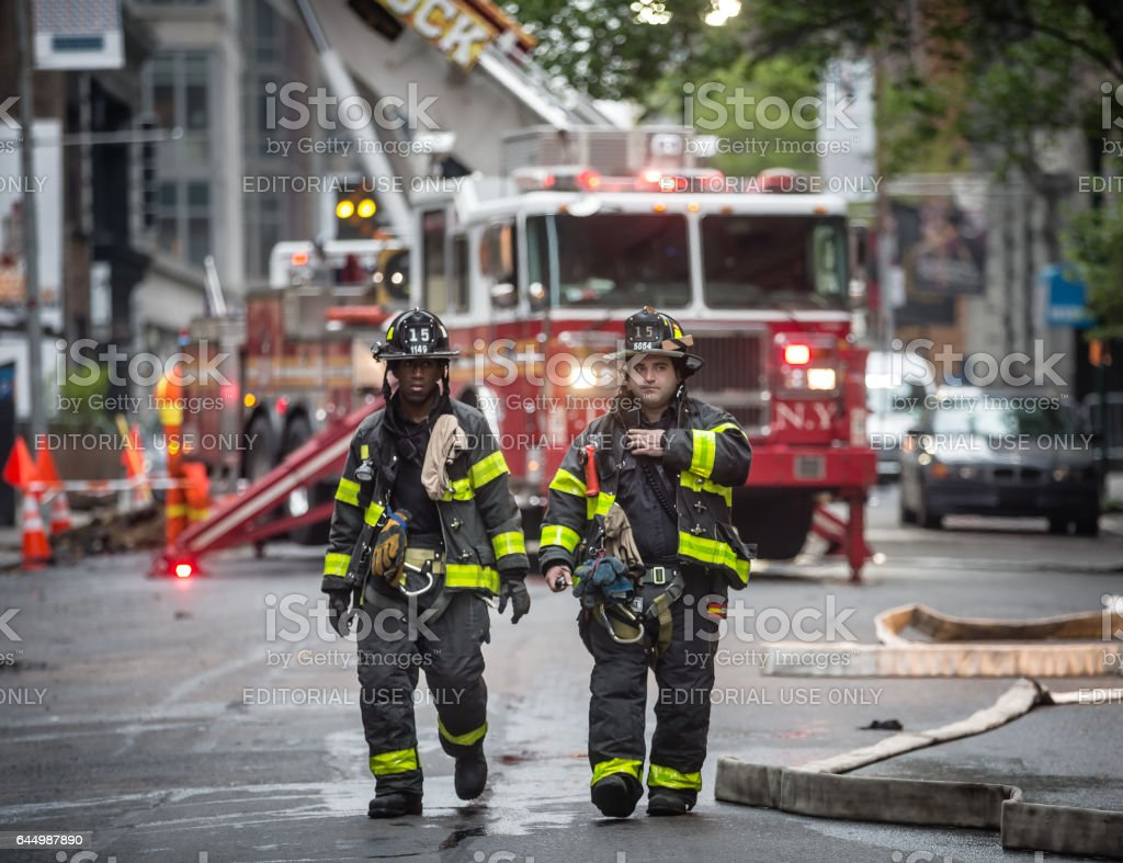 Fire Department of the City of New York (FDNY) stock photo