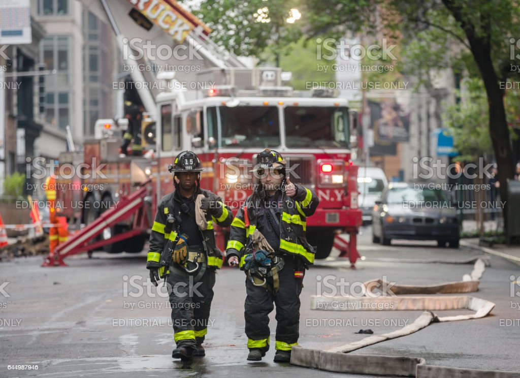 Fire Department of the City of New York (FDNY) - foto de stock