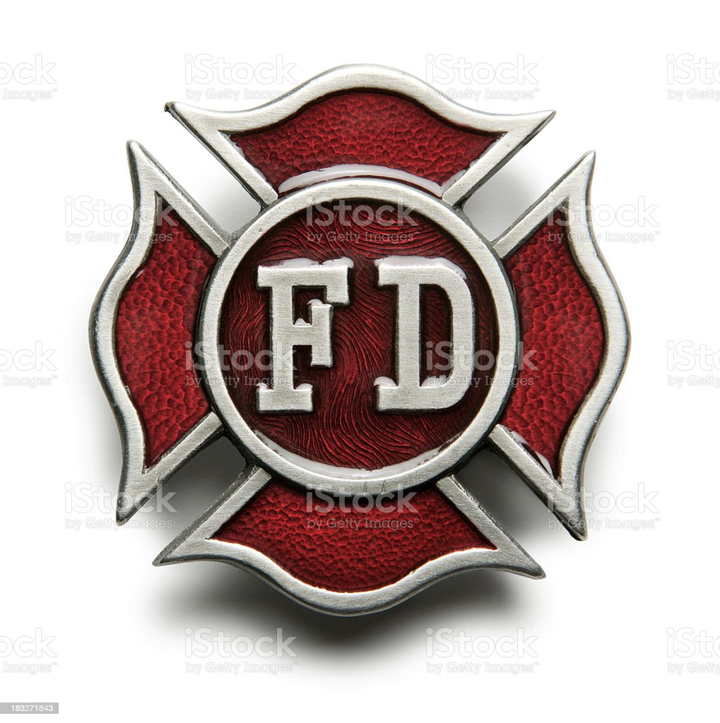 Fire Department Symbol stock photo