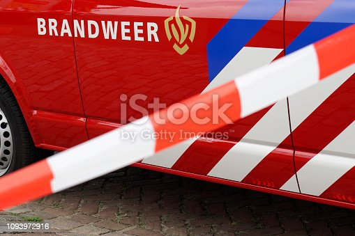 istock Fire Department vehicle in Holland (Dutch: Brandweer) 2/3 1093972916