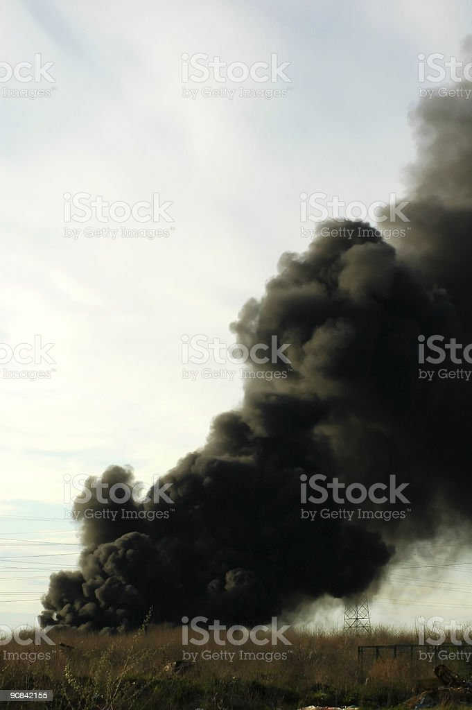 fire disaster royalty-free stock photo