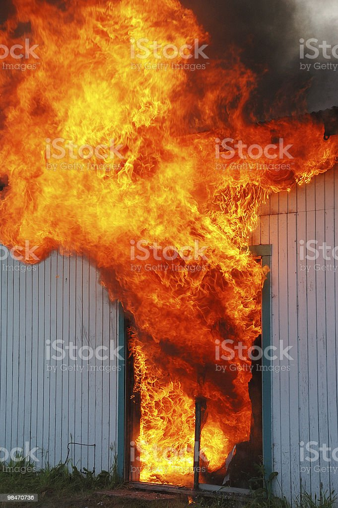 fire door royalty-free stock photo