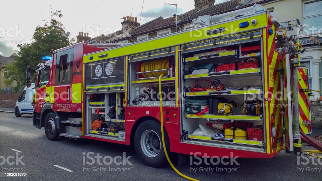Fire engine in UK