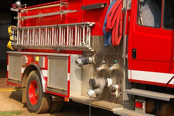 Camión de bomberos - foto de stock