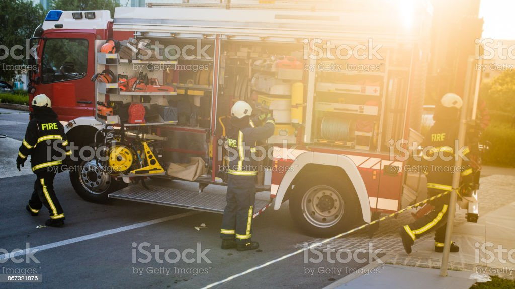 Fire Feuerwehrauto – Foto