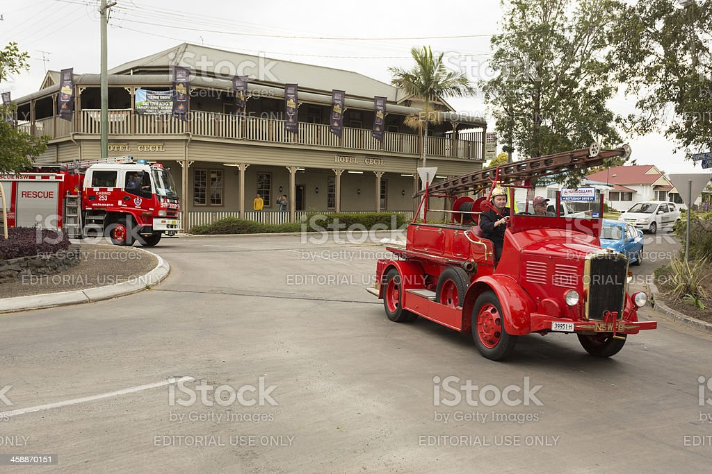 Fire Engines on Parade royalty-free stock photo