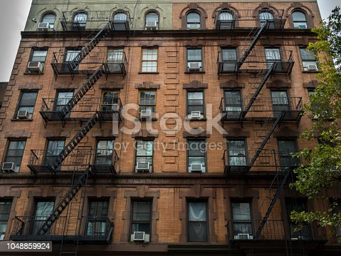 istock Fire Escapes in New York City 1048859924