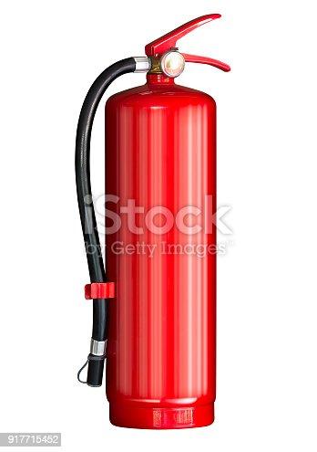 istock Fire extinguisher isolated 917715452