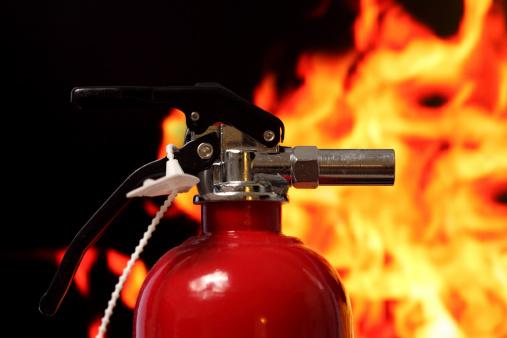 studio shot of fire extinguisherCheck out similar shots