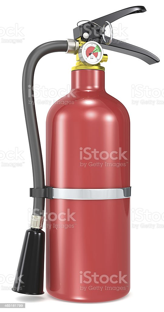 Fire Extinguisher. royalty-free stock photo